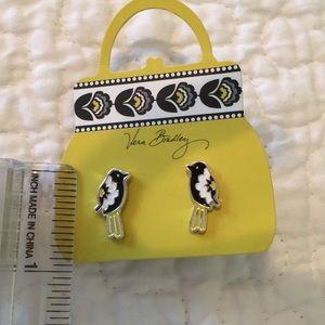 Vera Bradley bird earrings—new